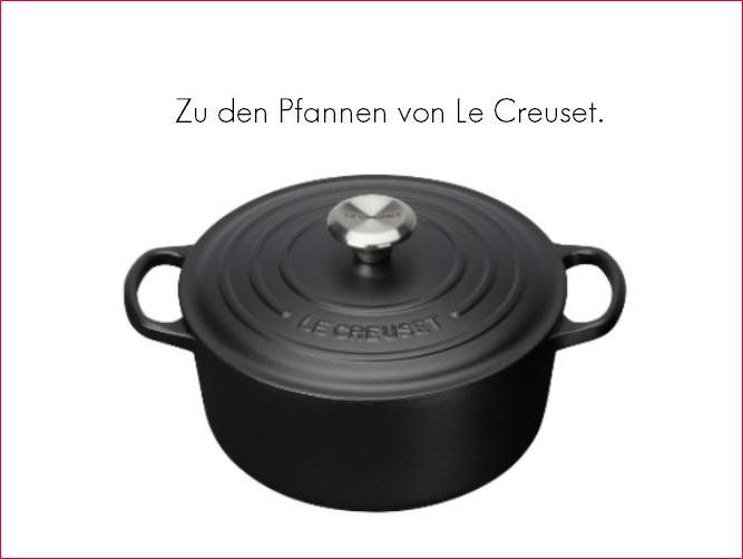Pfannen von Le Creuset - stöbern und kaufen.
