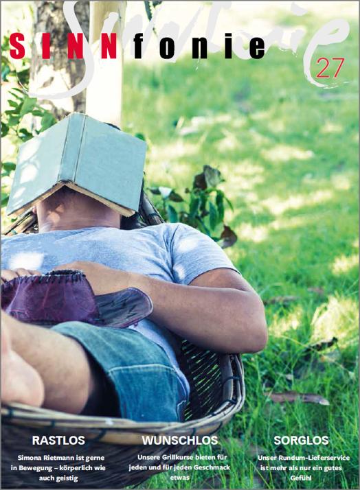 SINNfonie Nr.27 - Das Kundenmagazing von muffhaushalt und Vitrum