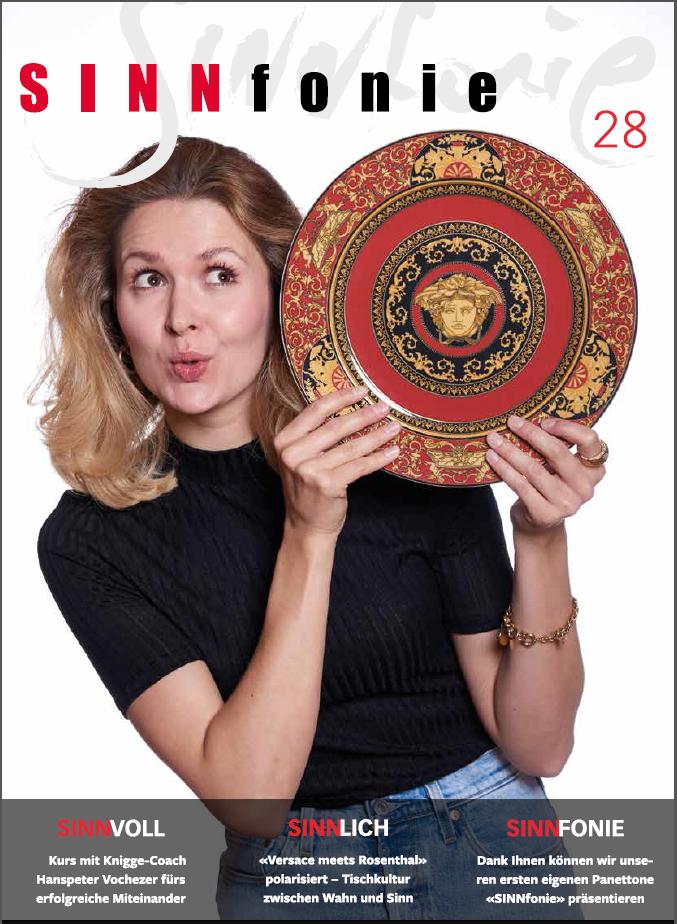 SINNfonie Nr. 28 - Das Kundenmagazing von muffhaushalt und Vitrum